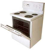 Stove - Call our appliance repair co., serving Chicago, IL., and suburbs, for fast Maytag, Whirlpool, Kenmore, GE, & Frigidaire repairs on any refrigerator, washer and dryer, oven range stove, & washing machine